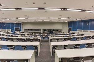 QUT University Lecture Theatre cleaned by Springmount