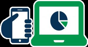 Online web portal icon