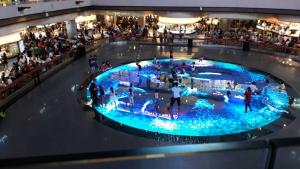 Singapore MBS interactive floor rink