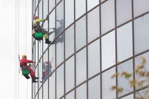 High rise window cleaners