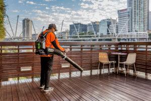 Springmount external landscaping care at Arts Precinct Brisbane