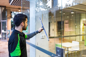 Glass and Window Cleaning from outside
