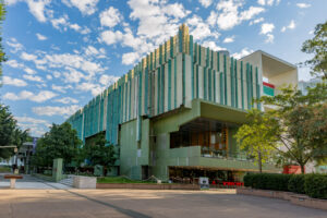 Queensland Library frontage