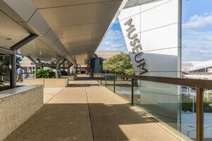 Queensland Museum top entrance
