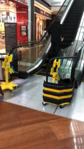Automated Hand rail cleaning system 3