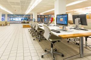 Computer lab area