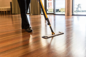 Timber Floor Mopping