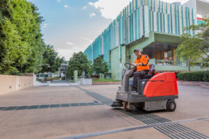 Arts Precinct Library Scrubbing machine operator