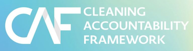 Cleaning Accountability Framework banner