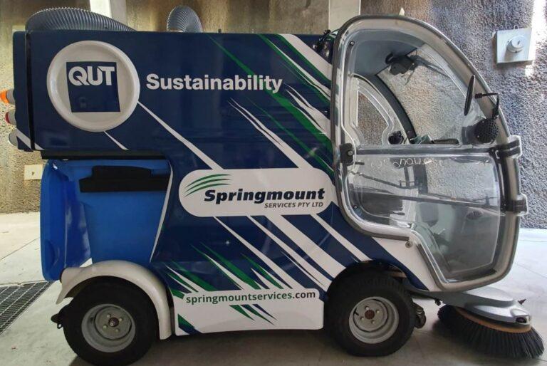 Zero Emission Sustainability Street Sweeper